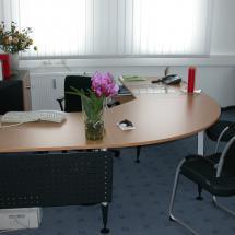 Büro komplett möbliert inkl. Telefon und Internet