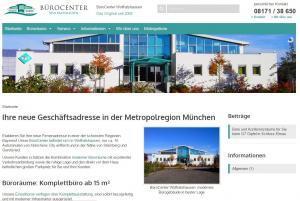 BüroCenter Wolfratshausen Relaunch 2015