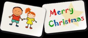 Geschenk mit Herz: Grußkarte mit in Paket